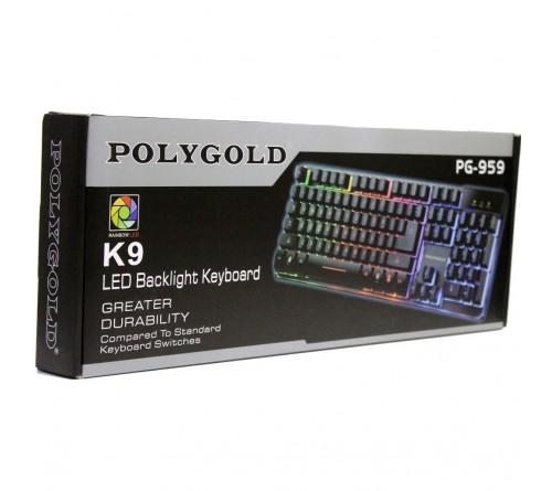 POLYGOLD PG-959 USB IޞIKLI MULTIMEDYA KLAVYE K9